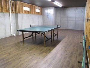 Table in basement