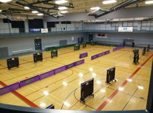 gym 2 with tables